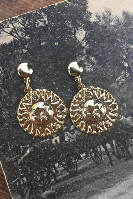 GOLDEN SUNS EARRINGS